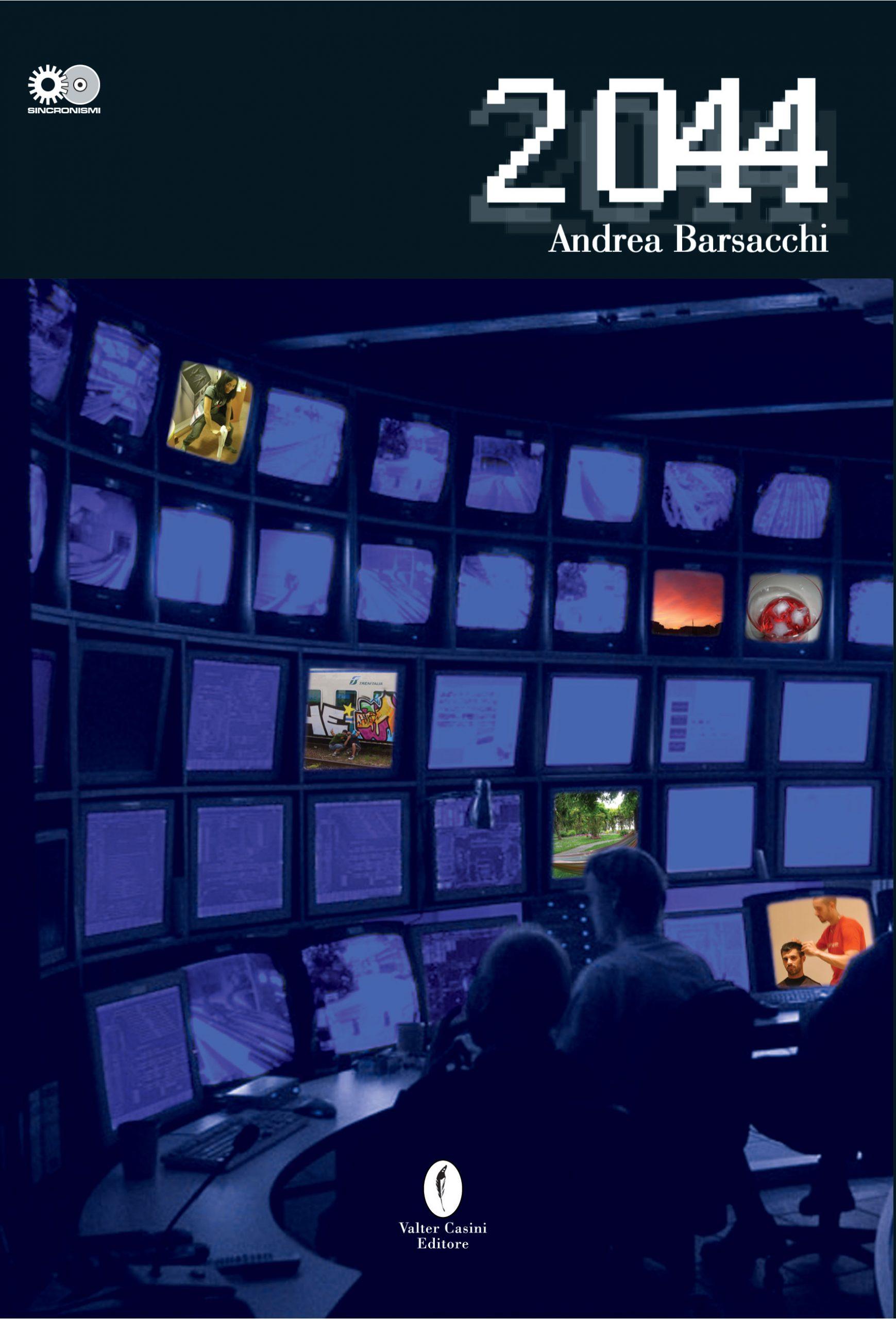 2044, copertina libro