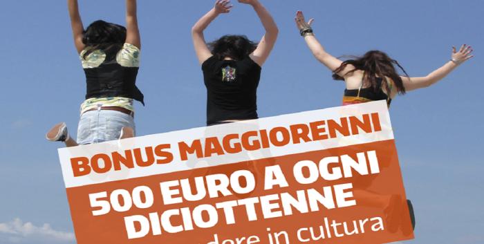 Arriva il bonus cultura per i 18enni